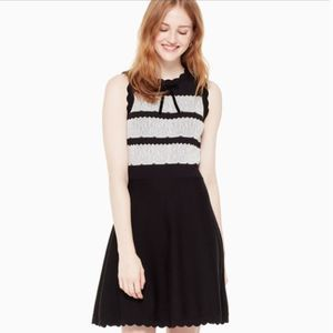 Kate Spade Sweater Dress Bow Lace Detail